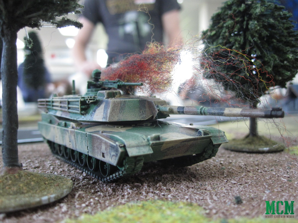 Painted Team Yankee M1 Abrams Miniature Showcase