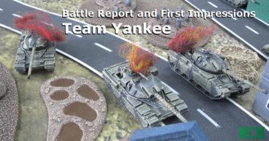 Team Yankee Battle Report - Tank Battle - Russia vs Americans and British