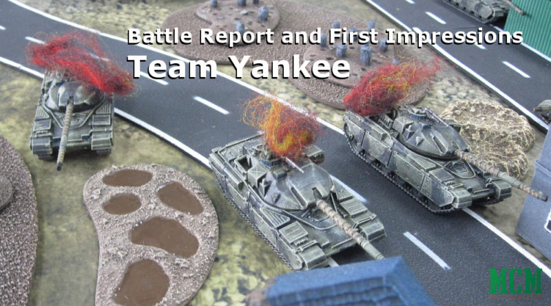 Team Yankee Battle Report - Tank Battle - Russia vs Americans and British