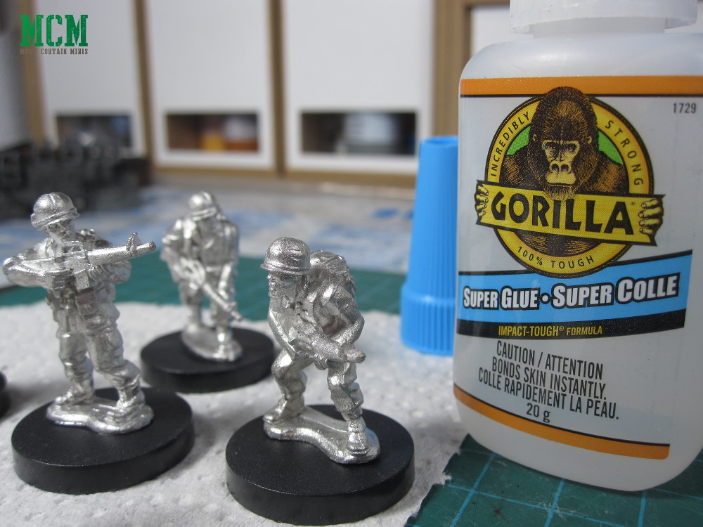 Gorilla Super Glue for gluing miniatures to bases