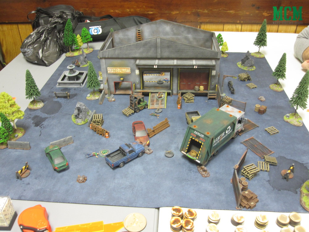 Carnaverse Battle Report - MDF Terrain by TT Combat