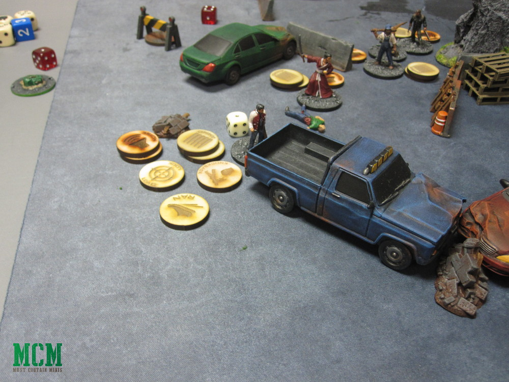 Carniverse Battle Report 28mm dinosaurs in a modern world
