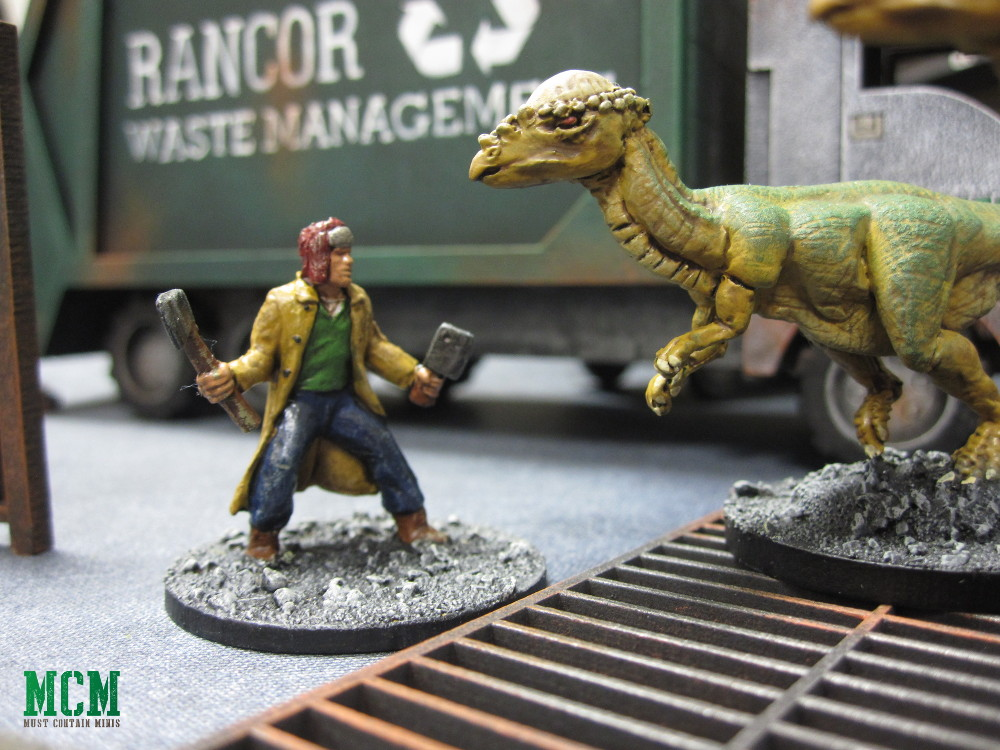 Carniverse Dinosaur Battle - 28mm miniatures game of survival