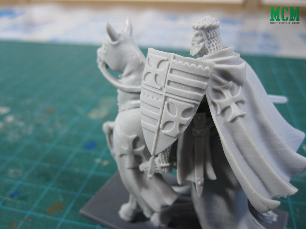Details level on a Fireforge Games Miniature