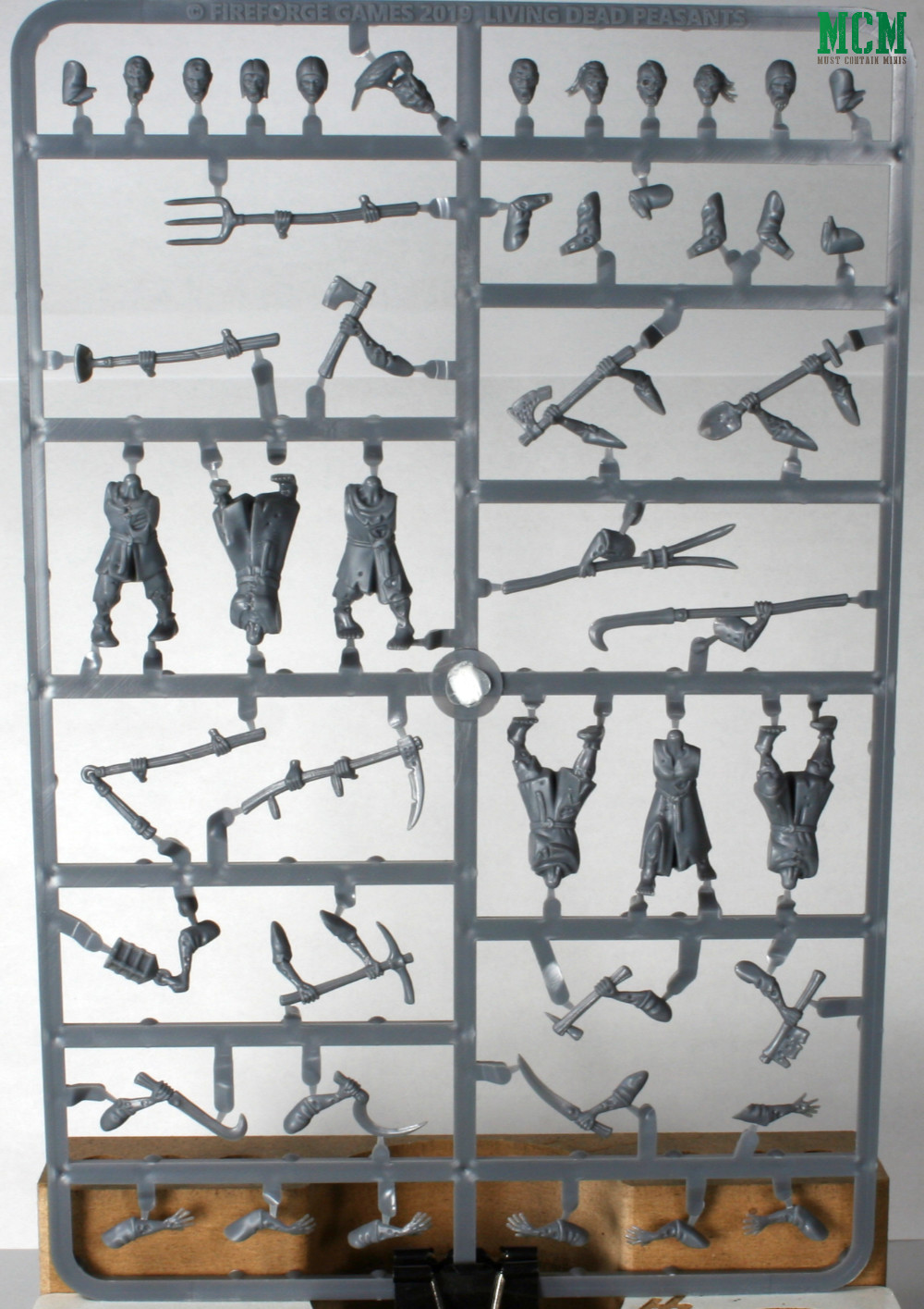 Forgotten Worlds Living Dead Image of the Sprue - Fireforge Games