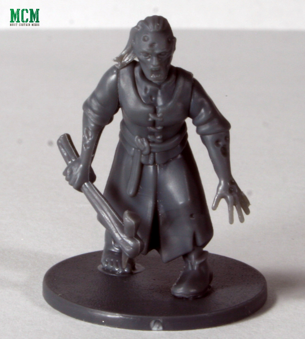A 28mm Female Zombie for medieval / fantasy times