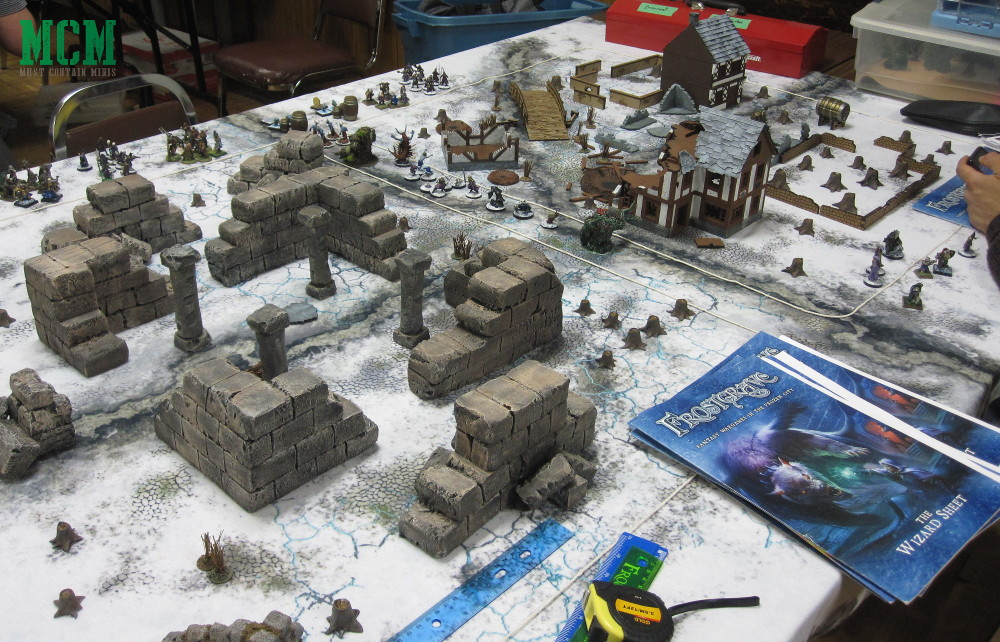 Tips on Demoing Frostgrave