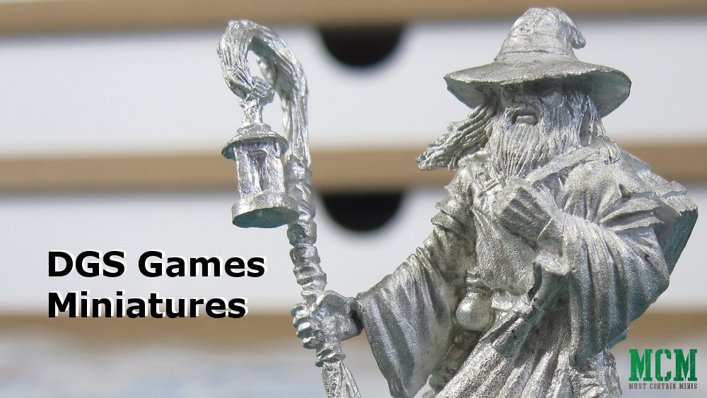 First Look at DGS Games Miniatures