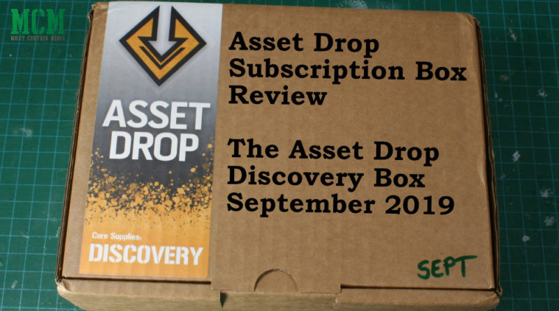Review of Asset Drop Discovery Box - September 2019