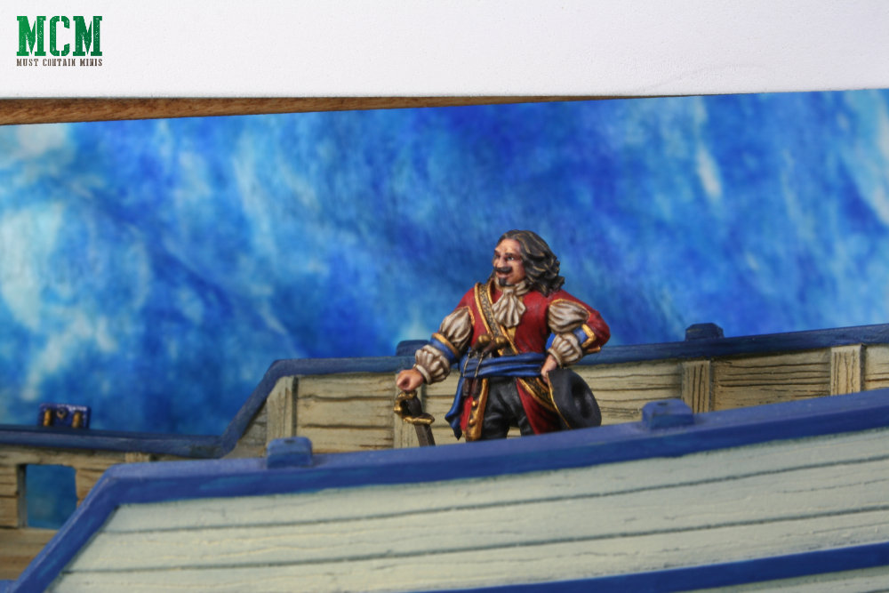 Captain Morgan Painted for Blood and Plunder - Miniature Showcase