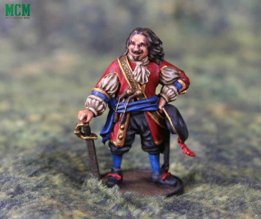 Captain Morgan miniature