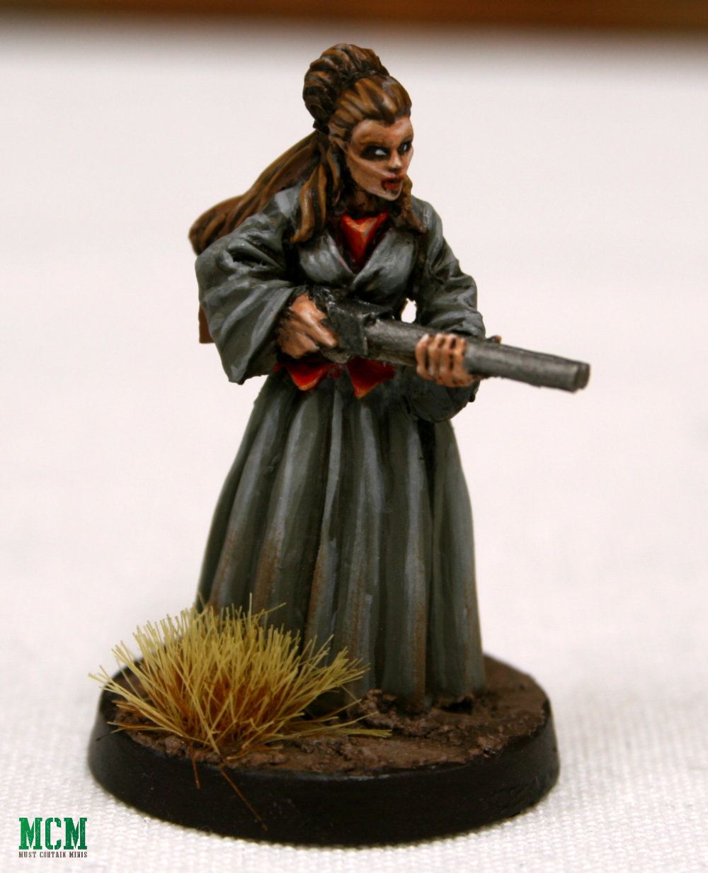 Painted Dracula's America Character Miniature - Red Hand Coven