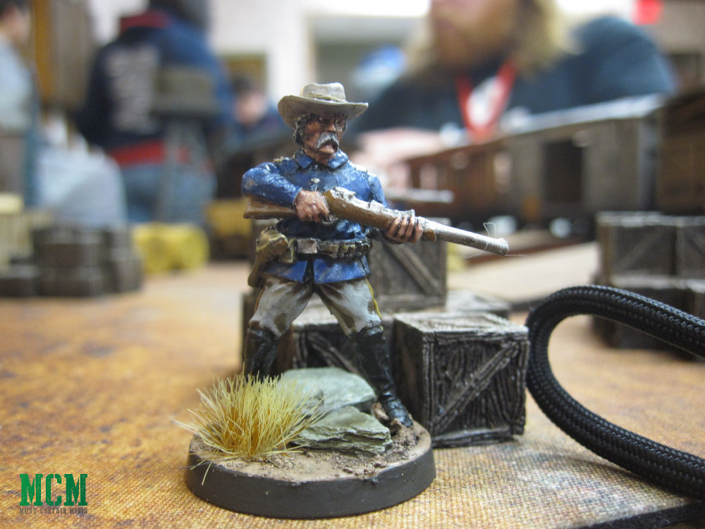 Wild West 28mm miniatures - Soldier