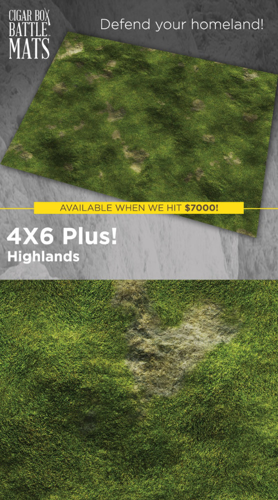 Highland Gaming Mat - Historical Wargaming