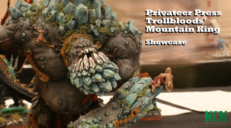 Trollblood Mountain King Miniature