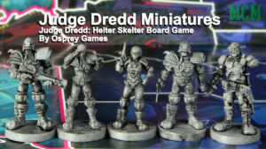 Judge Dredd: Helter Skelter Miniatures