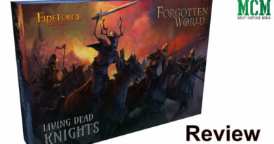 Living Dead Knights Review 28mm miniatures by Fireforge Games