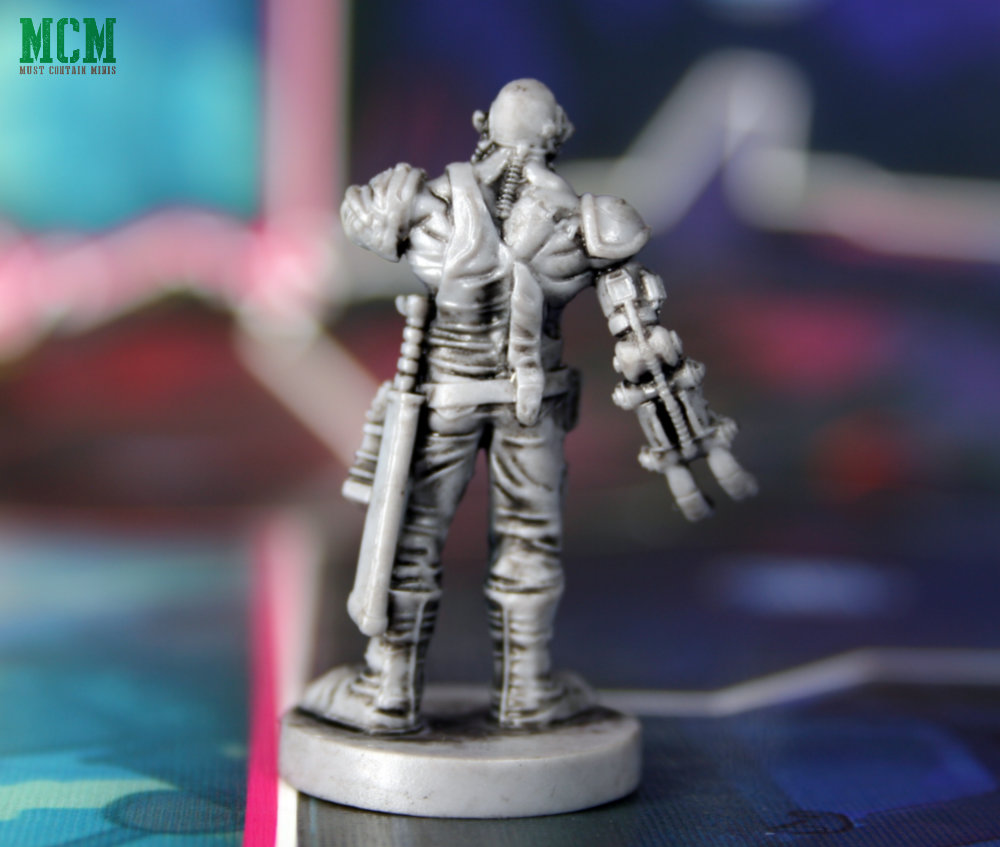Mean Machine Judge Dredd Miniature for Osprey Games Board Game