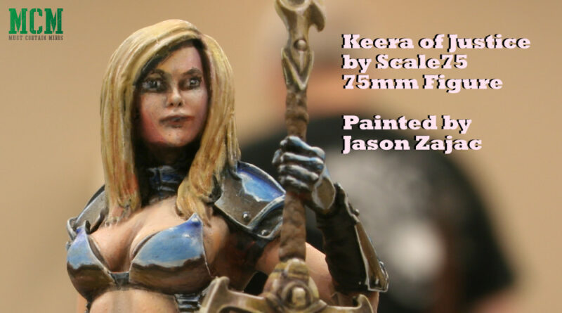 Keera of Justice by Scale75 - painted 75mm miniature