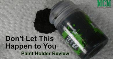 Third Party GW Paint Holder Review - Contrast Paints, Regular Paints, Oils