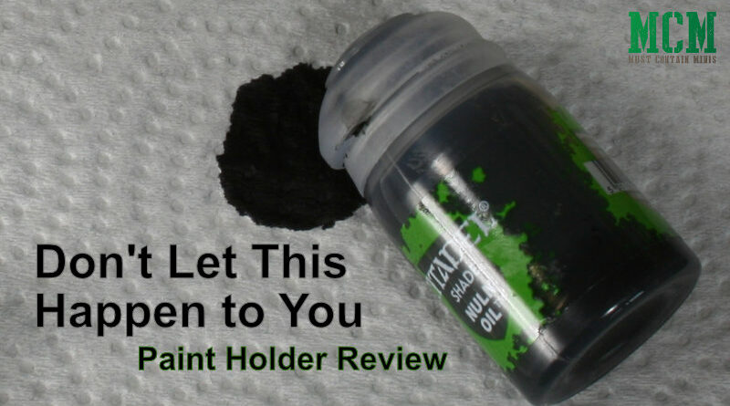 Third Party GW Paint Holder Review - Contrast Paints, Regular Paints, Oils