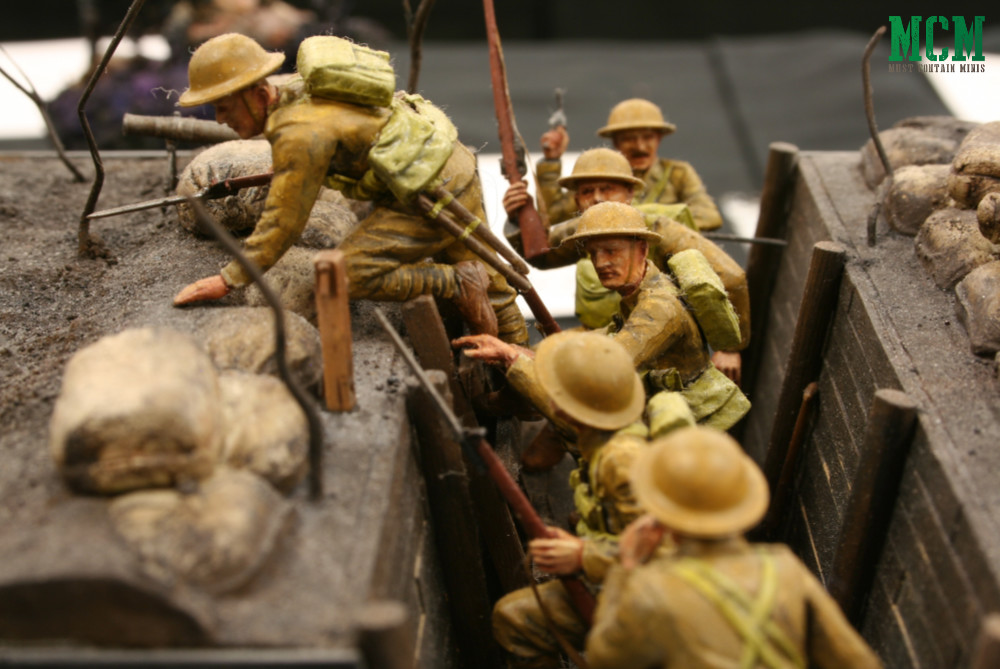 Lest We Forget - World War One Veterans Day Diorama