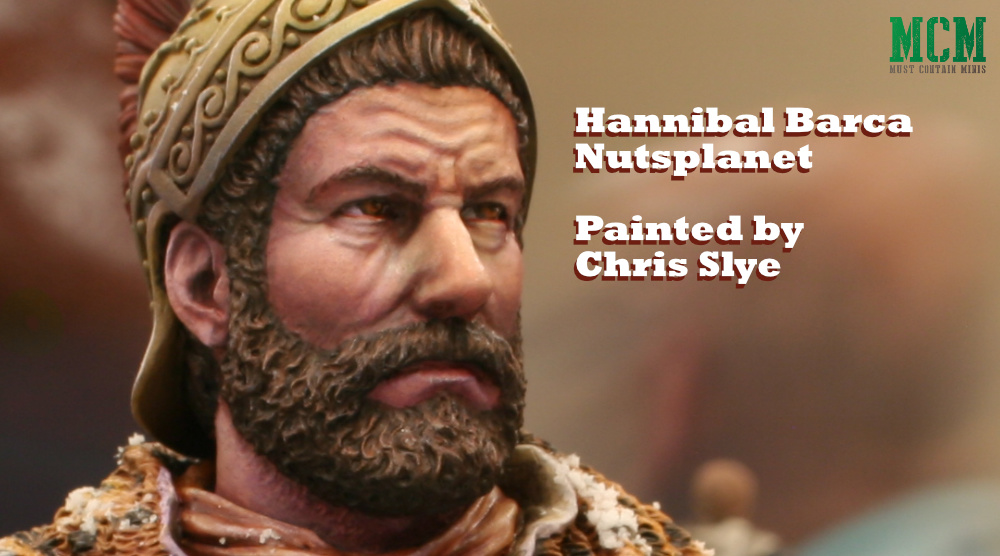 Hannibal Barca by Nutsplanet as painted by Chris Slye of Lords of War