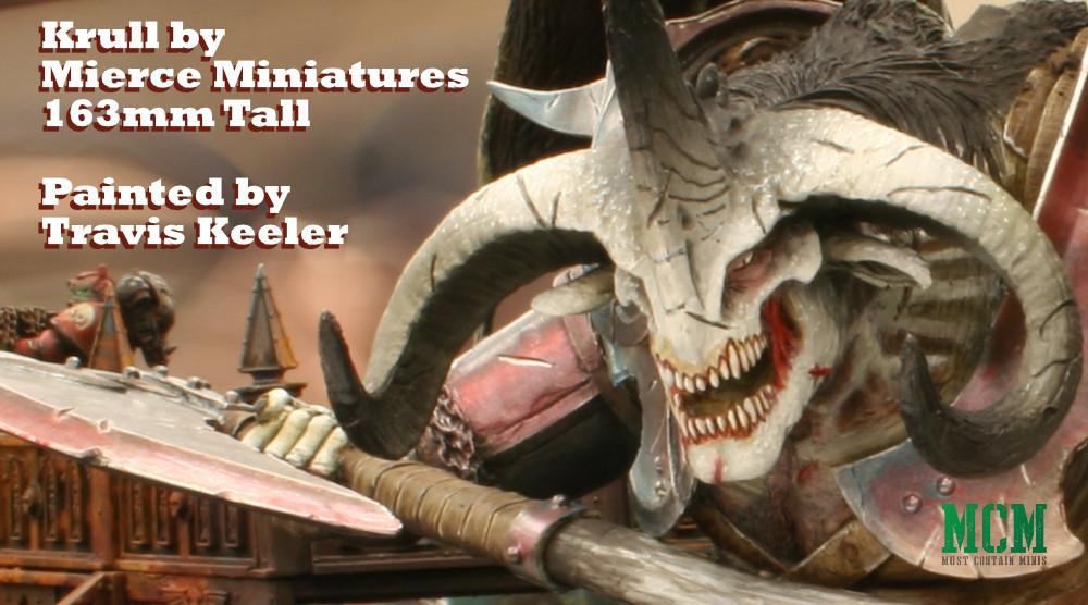 Great Axe Krull by Mierce Miniatures