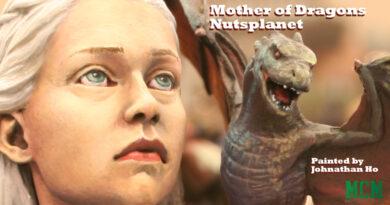 Daenerys Targaryen Mother of Dragons Game of Thrones Miniature Bust by Nutsplanet