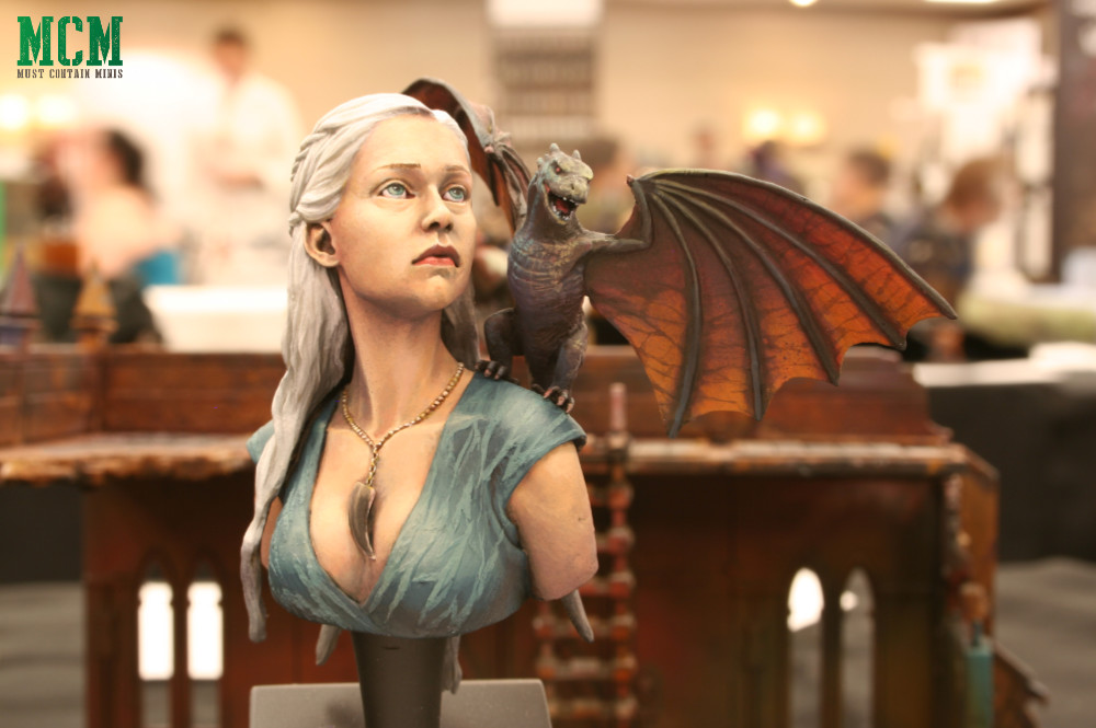 Mother of Dragons Miniature Bust by Nutsplanet - Game of Thrones