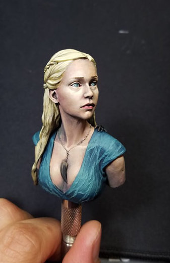 Mother of Dragons by Johnathan Ho at Sword and Brush 2019