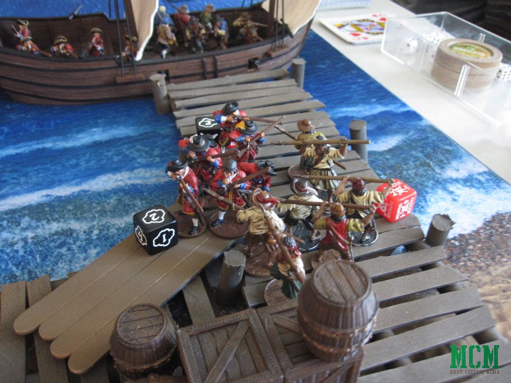 British Militia vs Spanish Lanceros