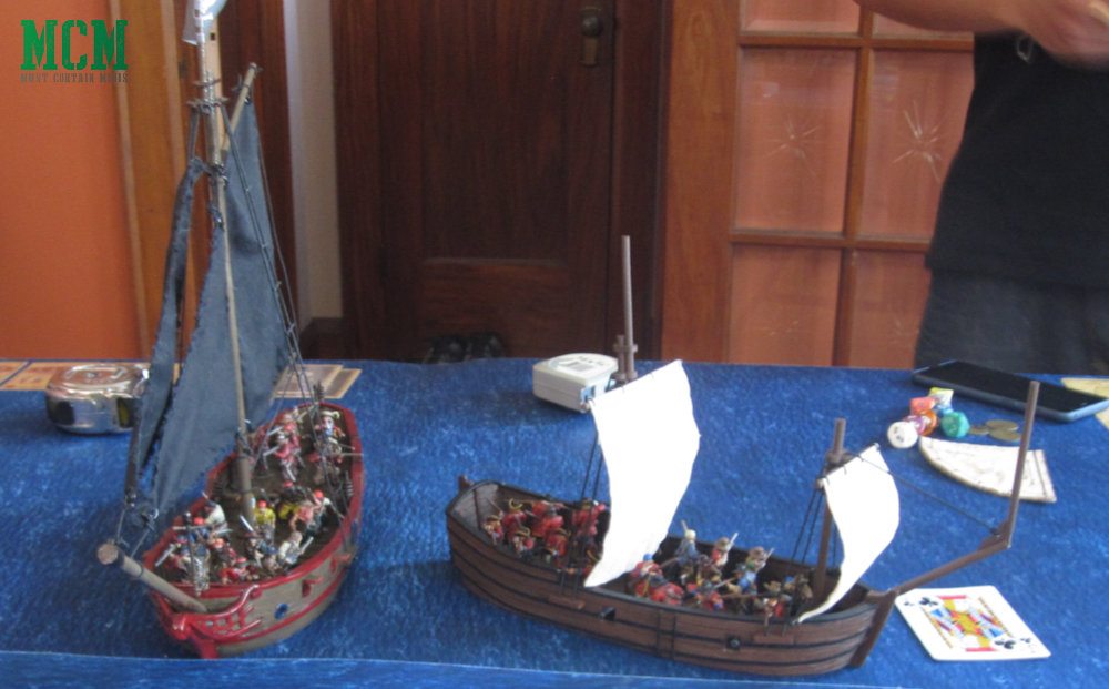 Blood and Plunder Ships (sloop and Bark) by Firelock Games - 28mm tall ships