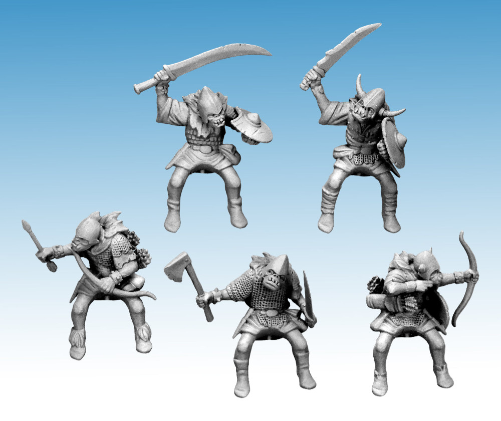 Oathmark Goblin Rider Miniatures