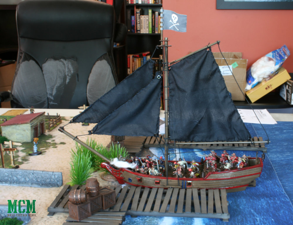 18th / 17th century historical sea battle miniatures game in 28mm
