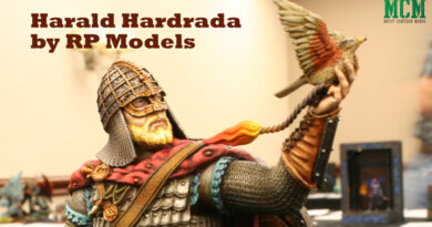 Harald Hardrada Bust by RP Models and painted by Kyle Maitland