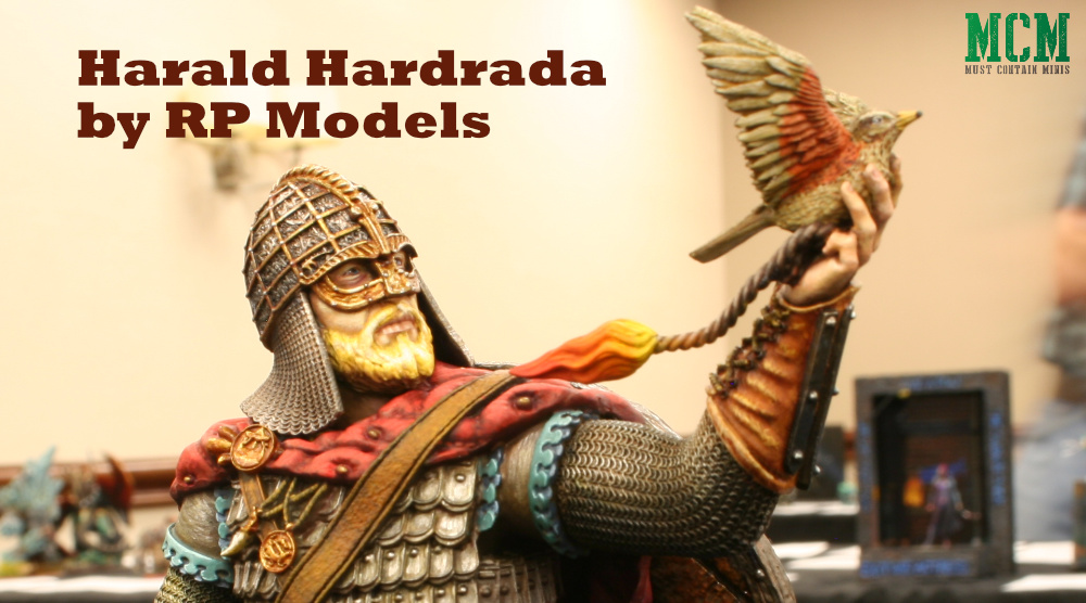 Harald Hardrada Bust by RP Models