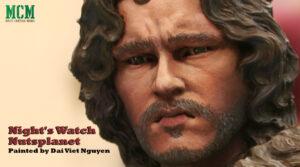 Night's Watch Bust by Nutsplanet (Jon Snow)