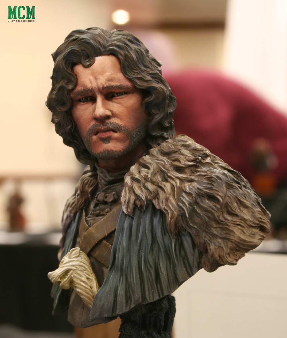 Night's Watch Game of Thrones Jon Snow Bust