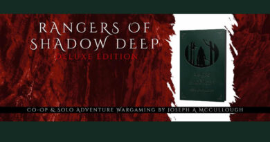 Rangers of Shadow Deep and Modiphius