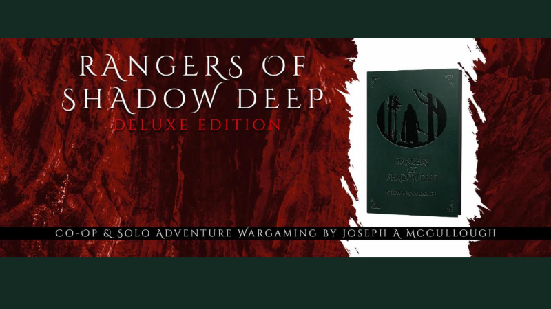 Rangers of Shadow Deep Moves to Modiphius