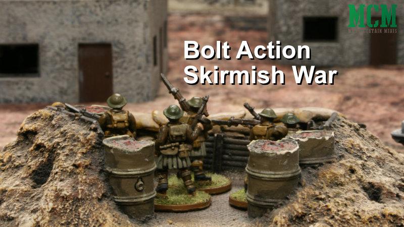 Bolt Action Skirmish Battle Report