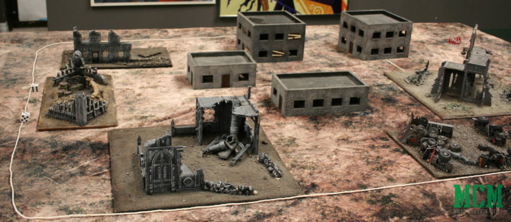 Bolt Action City Fight Skirmish Table