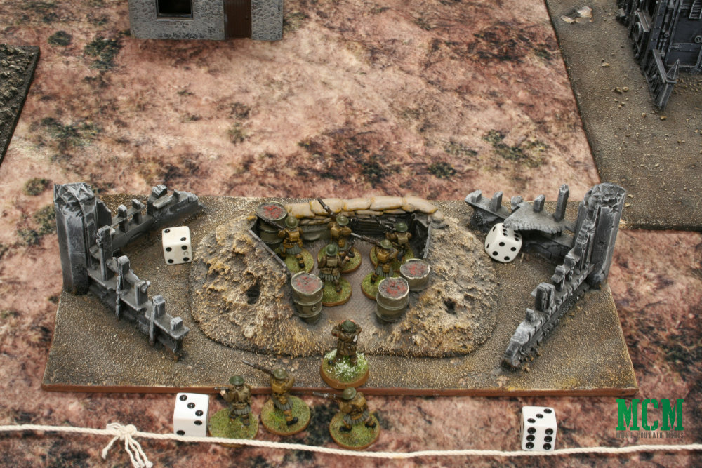 Bolt Action Skirmish Game Deployment