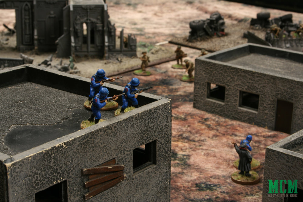 Bolt Action Table top battle - Cigar Box Battle Mats