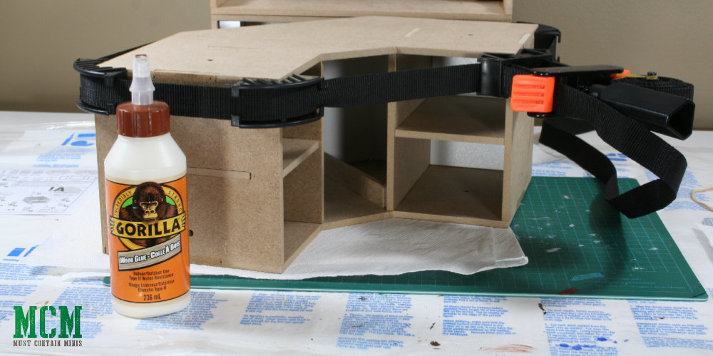 Building a MDF drawer unit with Gorilla Glue