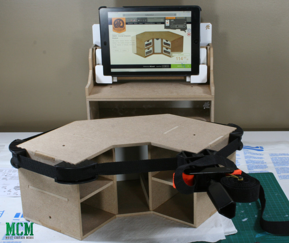Building an MDF Hobby Station