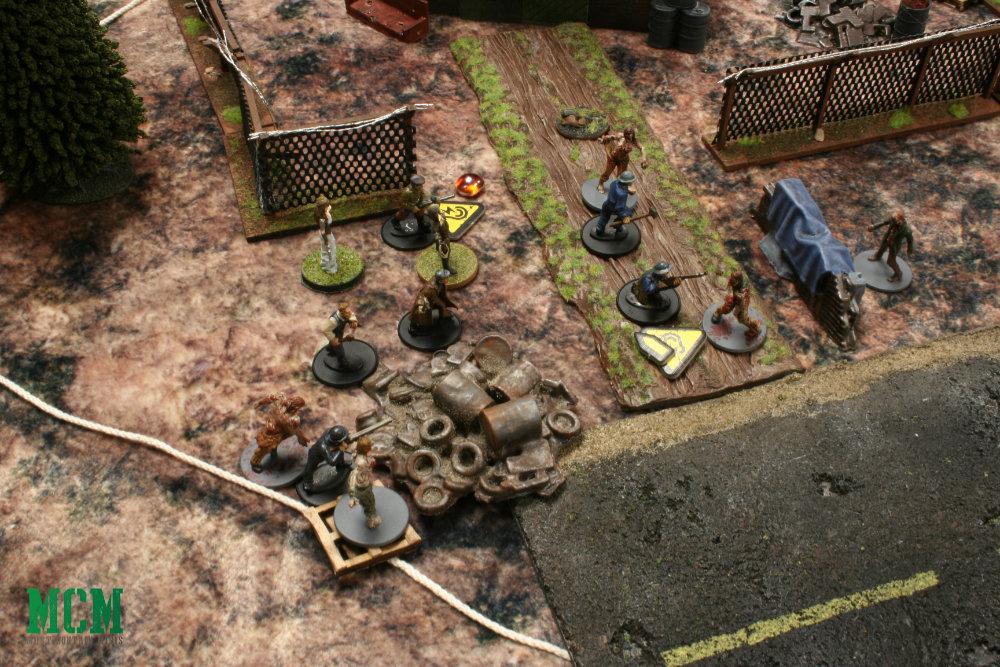 Osprey Games Zombie Battle Report