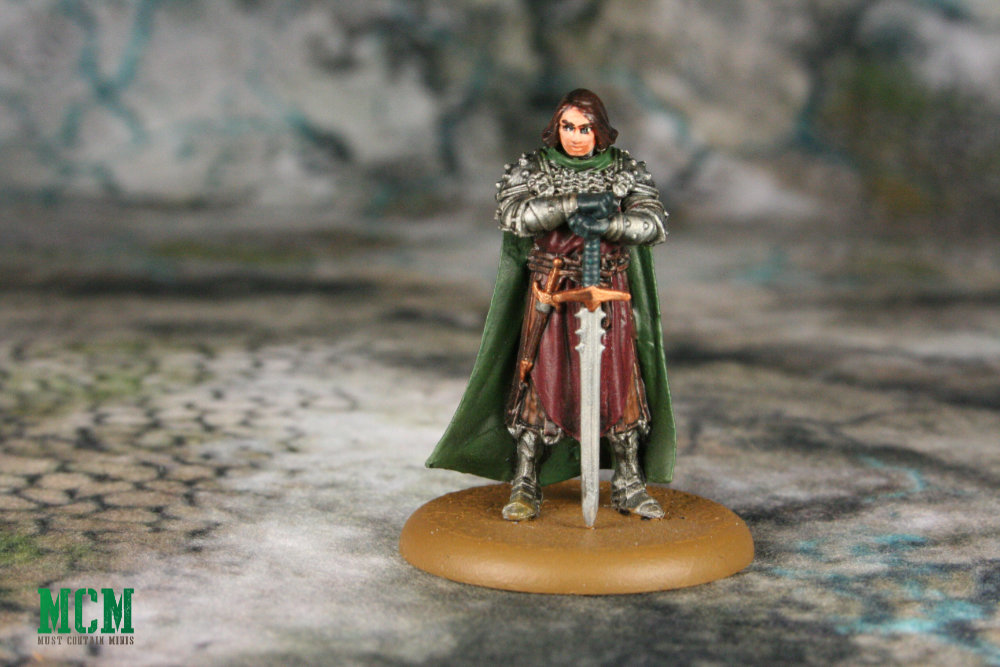 Painted Roose Bolton Miniature - Song Of Ice and Fire Independent Miniatures
