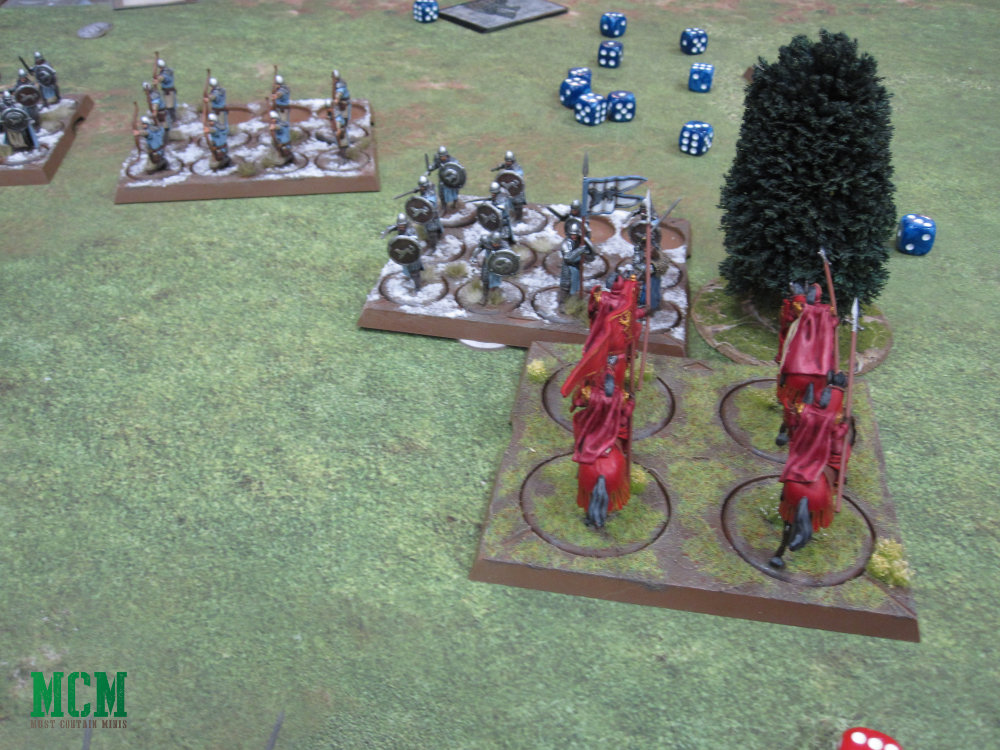 Cavalry Charge in A Song of Ice and Fire Miniatures Game